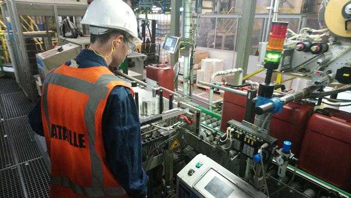 Solutions pour la logistique et gestion de production